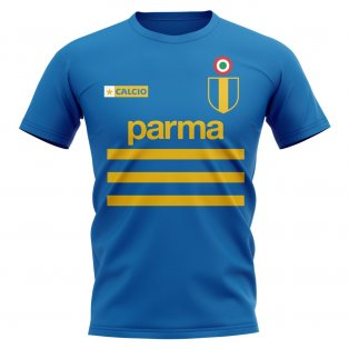 Parma Vintage Football T-Shirt (Blue)