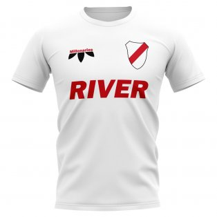 River Plate Vintage Football T-Shirt (White)