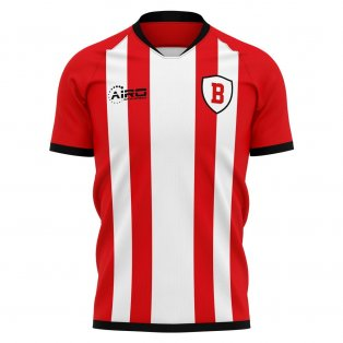 2020-2021 Brentford Classic Concept Football Shirt