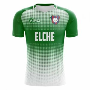 2019-2020 Elche Home Concept Football Shirt - Kids