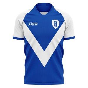 2020-2021 Brescia Home Concept Football Shirt - Womens
