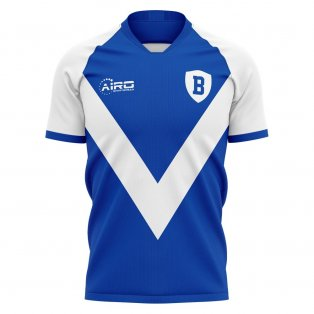 2020-2021 Brescia Home Concept Football Shirt - Womens