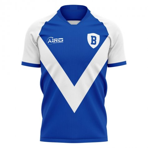 2020-2021 Brescia Home Concept Football Shirt