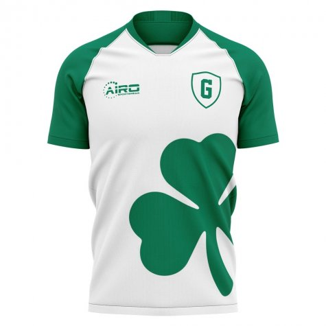 2019-2020 Gruether Furth Away Concept Football Shirt