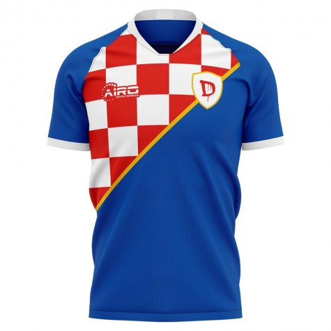 2019-2020 Dinamo Zagreb Home Concept Football Shirt - Womens
