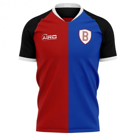2020-2021 Basel Home Concept Football Shirt