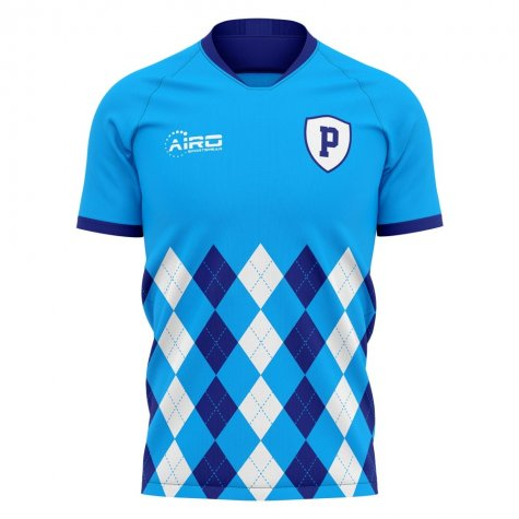 2020-2021 Pescara Home Concept Football Shirt - Kids