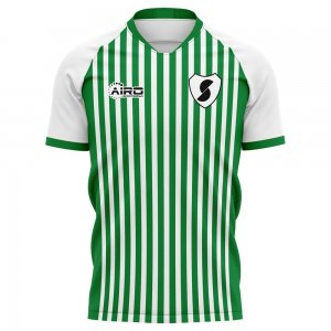 2020-2021 Racing Santander Home Concept Football Shirt - Kids