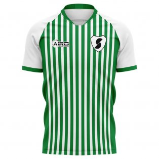 2020-2021 Racing Santander Home Concept Football Shirt