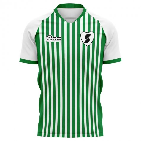 2020-2021 Racing Santander Home Concept Football Shirt