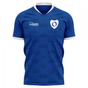 2019-2020 Real Oviedo Home Concept Football Shirt - Kids