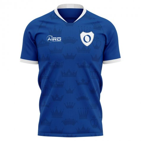 2020-2021 Real Oviedo Home Concept Football Shirt - Little Boys