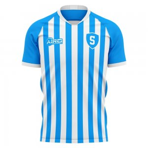 2020-2021 SPAL Home Concept Football Shirt