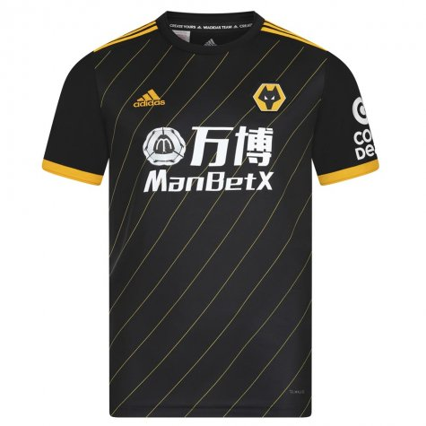 2019-2020 Wolves Away Football Shirt (Kids)