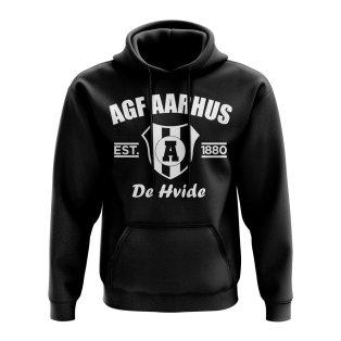 Agf Aarhus Established Football Hoody (Black)