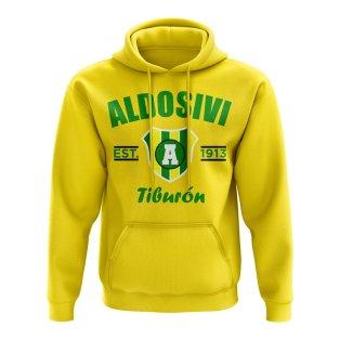 Aldosivi Established Football Hoody (Yellow)