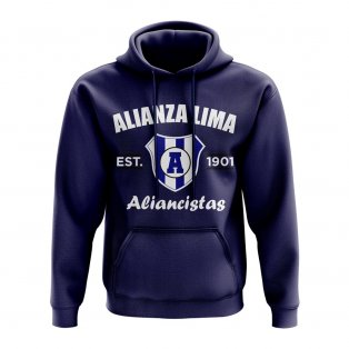 Alianza Established Football Hoody (Navy)