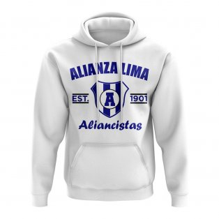 Alianza Established Football Hoody (White)