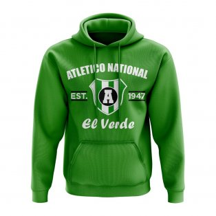 Atletico Nacional Established Football Hoody (Green)