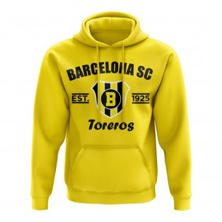 Barcelona SC Established Football Hoody (Yellow)
