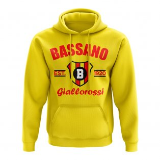 Bassano Established Football Hoody (Yellow)