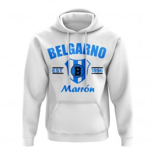 Club Atlético Belgrano Established Football Hoody (White)