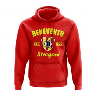 Benevento Established Football Hoody (Red)