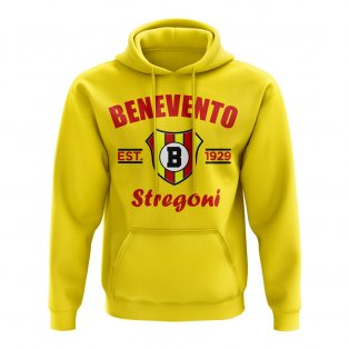 Benevento Established Football Hoody (Yellow)