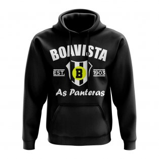Boavista Established Football Hoody (Black)
