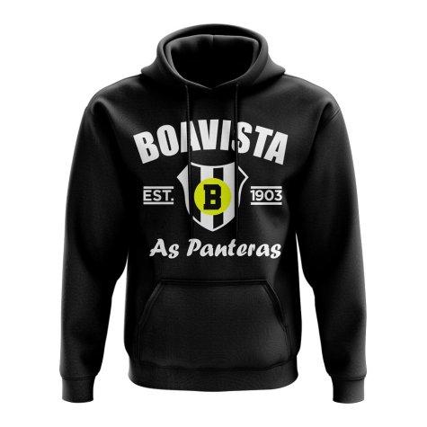 Boavista Established Football Hoody (Black)