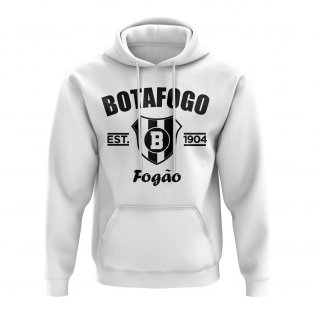Botafogo Established Football Hoody (White)