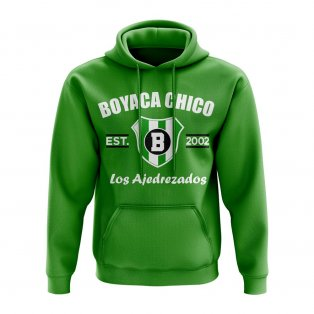 Boyacá Chicó Established Football Hoody (Green)