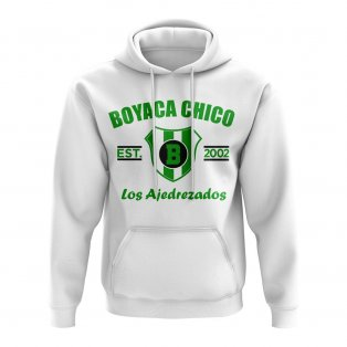 Boyacá Chicó Established Football Hoody (White)