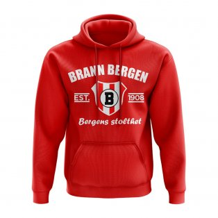 Brann Bergen Established Football Hoody (Red)