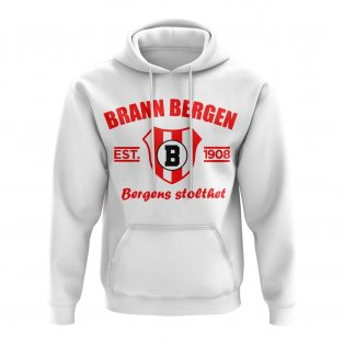 Brann Bergen Established Football Hoody (White)