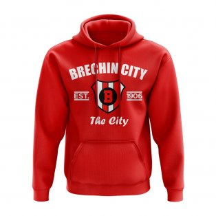 Brechin City Established Football Hoody (Red)