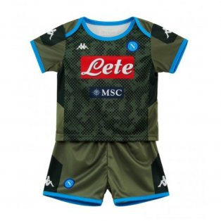 2019-2020 Napoli Kappa Away Football Kit (Kids)