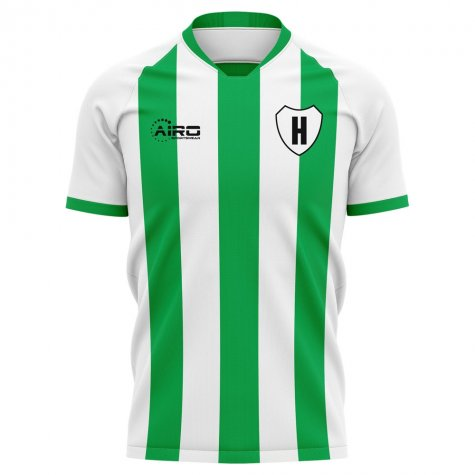 2020-2021 Hammarby Home Concept Football Shirt - Womens