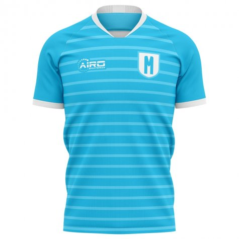 2020-2021 Malmo FF Home Concept Football Shirt - Baby