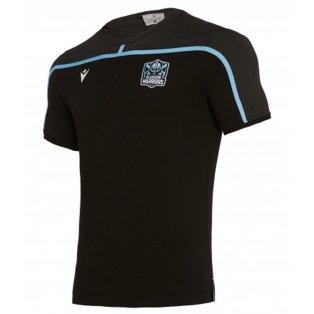 2019-2020 Glasgow Warriors Rugby Travel Cotton Tee (Black)