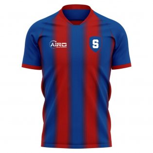 2019-2020 Steaua Bucharest Home Concept Football Shirt - Kids