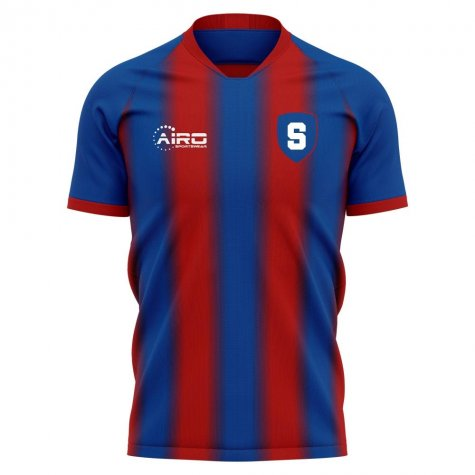 2019-2020 Steaua Bucharest Home Concept Football Shirt - Womens