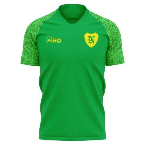 2020-2021 Norwich Away Concept Football Shirt - Womens