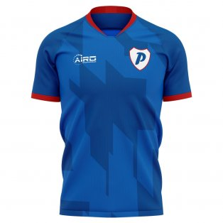 2020-2021 Portsmouth Home Concept Football Shirt
