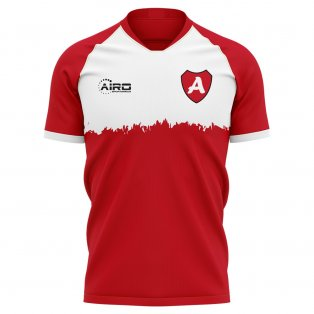 2020-2021 AZ Alkmaar Home Concept Football Shirt