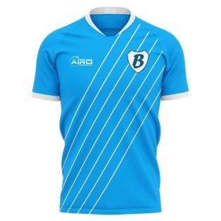 2020-2021 Slovan Bratislava Home Concept Football Shirt