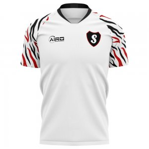 2020-2021 Swansea Home Concept Football Shirt - Little Boys