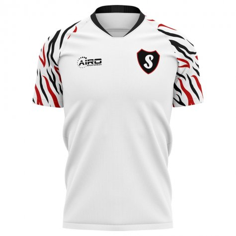 2020-2021 Swansea Home Concept Football Shirt - Womens
