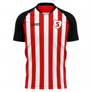 2019-2020 Sunderland Home Concept Football Shirt