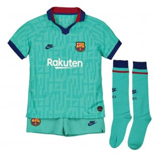 2019-2020 Barcelona Third Nike Little Boys Mini Kit
